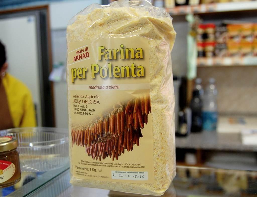 Farina per polenta di Arnad