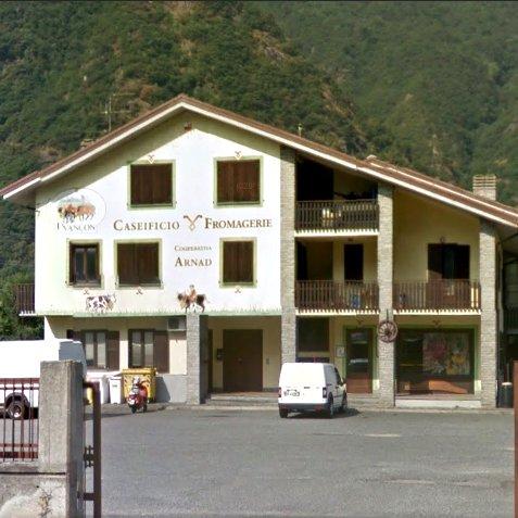 Caseificio Evancon edificio